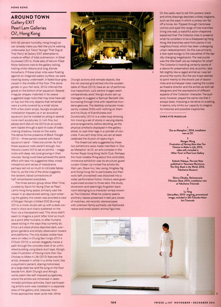 frieze oct nov